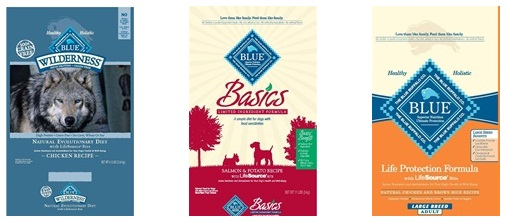 Blue Buffalo Dog Food Recalls