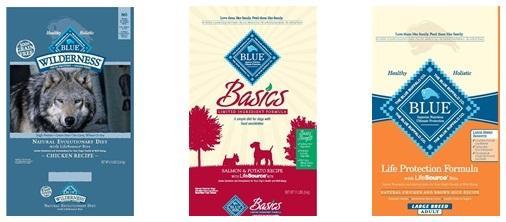 Blue Buffalo Dog Food Recalls