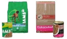 Iams and Eukanuba Dog Food